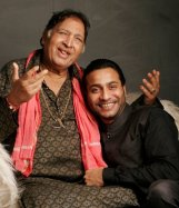 Sultan Khan (1940-2011) & Sabir Khan (son)