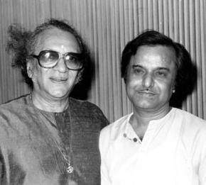 Ravi Shankar and Manas Chakraborty shared stage several times and mutually shared huge respect as artists with each other.... (Source: Facebook)