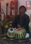 part 1 of house concert on 30th May 2014 with Subrata Manna (Tabla solo)