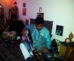 part 1 of house concert on 30th May 2014 with Subrata Manna (Tabla) and Debanjan Bhattacharjee (Sarode)