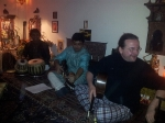 part 2 of house concert on 30th May 2014 with Subrata Manna (Tabla), Debanjan Bhattacharjee (Sarode) and Daniel Luedke (concert guitar, 12-string-guitar)