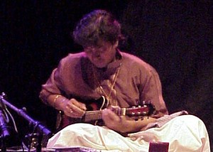 Srinivas performing in Germany, 2001 (Source: Wikipedia.org)