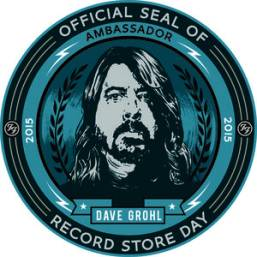 Record Store Day Ambassador 2015 : Dave Grohl