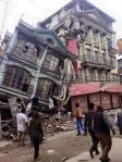 Terrible damages as seen with latest pics from Kathmandu of #earthquake aftermath (Source: ANI on Twitter )