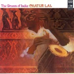 Chatur Lal - The Drums of India - front