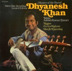 Dhyanesh Khan - Master of the Sarod - front